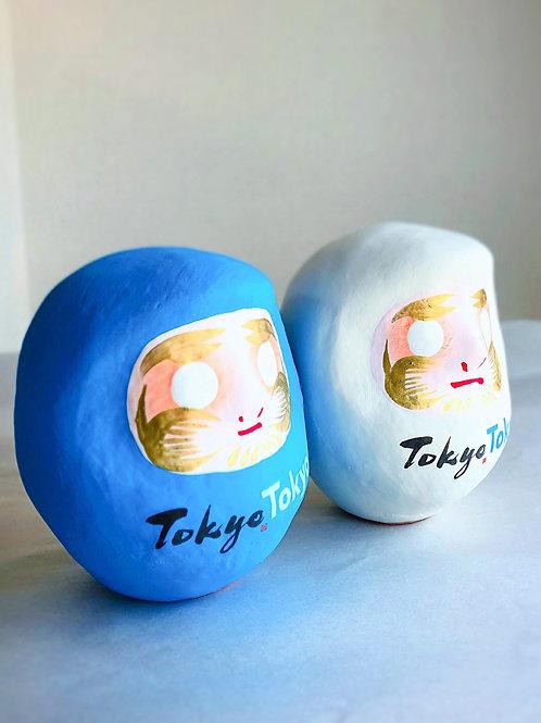 「TokyoTokyo」はっぴーだるま(高さ9cm)(全2色)