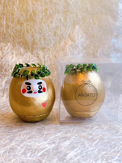 ARIGATO DARUMA  Gold