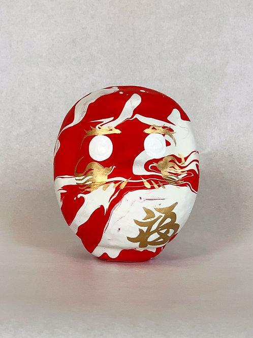 龍と鳳凰「一期一会」紅/純白