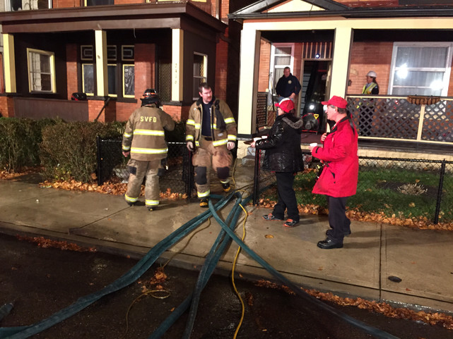 Second Alarm House Fire in Swissvale