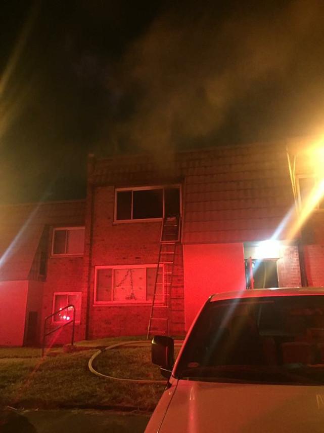 Apartment Fire in Braddock Hills