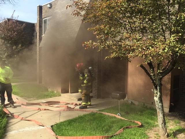 Kitchen Fire in Braddock Hills