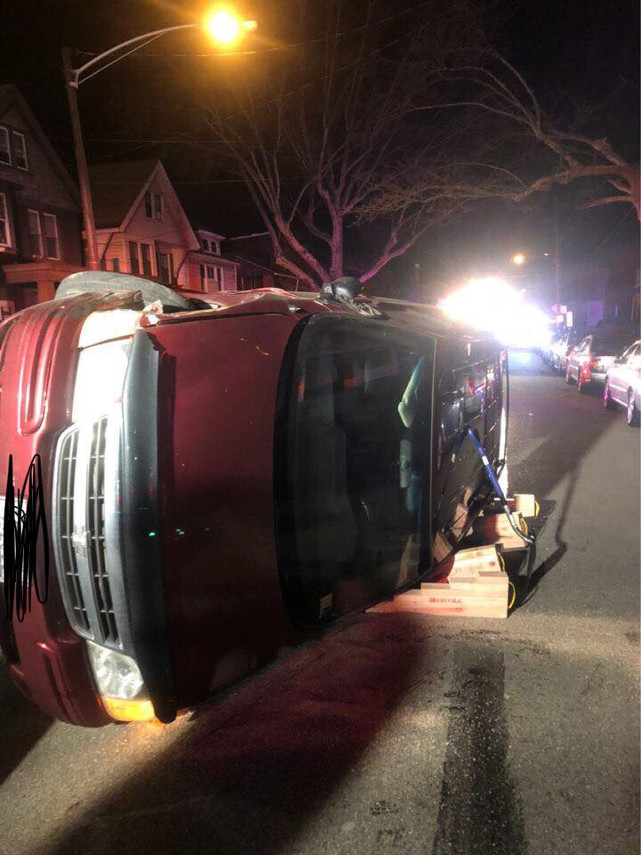 Vehicle Rollover in the Borough of Swissvale