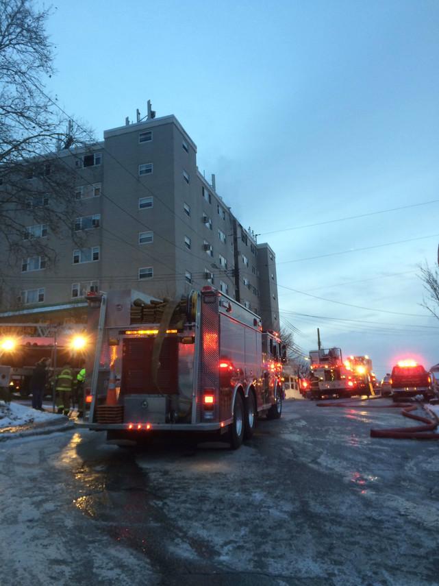 4-Alarm Fatal High Rise Fire