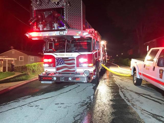 Fire in Penn Hills