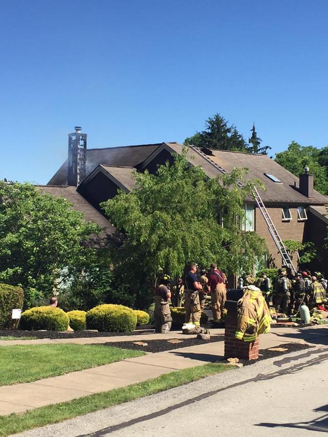 3-Alarm House Fire in Wilkins