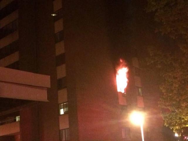 3-Alarm Fire in Wilkins