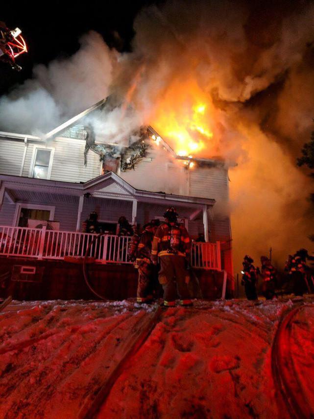 Braddock Hills House Fire