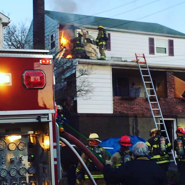 Multiple Alarm Fire in Munhall