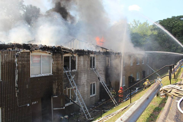 3-Alarm Apartment Fire in Duquesne w/Mayday