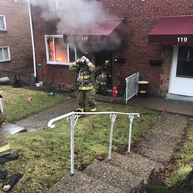Duplex Fire in Munhall
