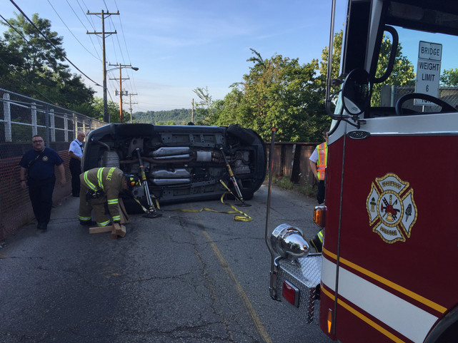 Rollover with Entrapment in Swissvale