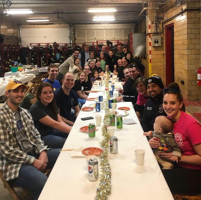 Crews Get a Quiet Thanksgiving