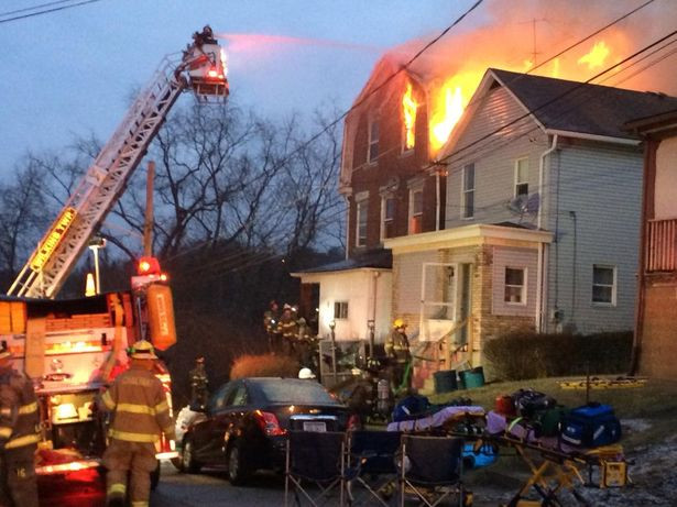 House Fire in Chalfant