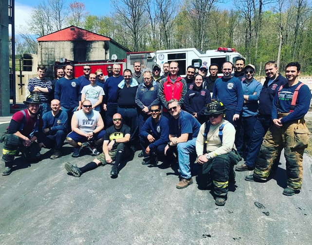 New Firefighters Graduate Fire School