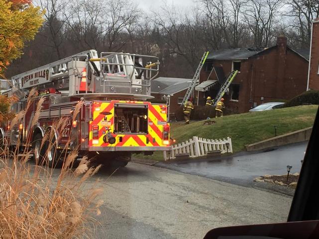 Two-Alarm Fatal Fire in Penn Hills