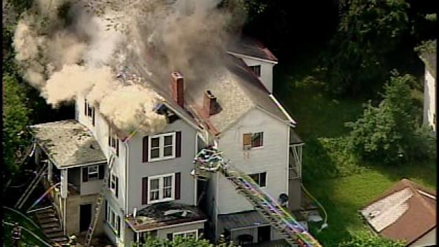 2nd Alarm Fire in Wilkins