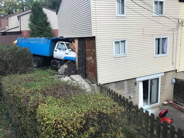 Runaway Dump Truck!