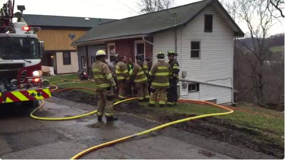Two-Alarm Basement Fire in Swissvale