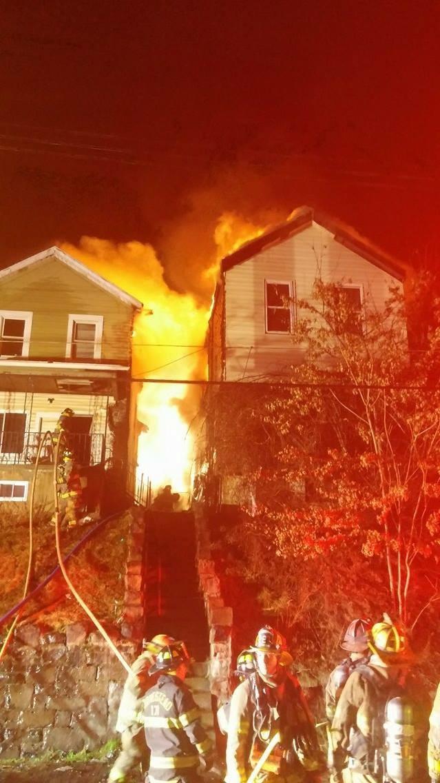 3-Alarm Multi-Dwelling Fire in North Braddock