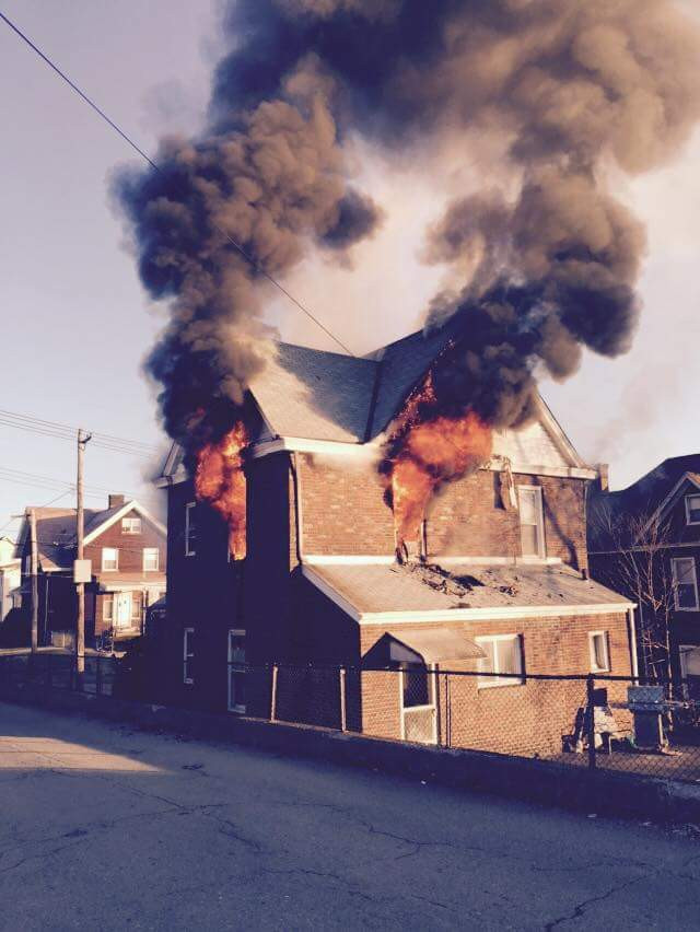 Second Alarm House Fire in Duquesne