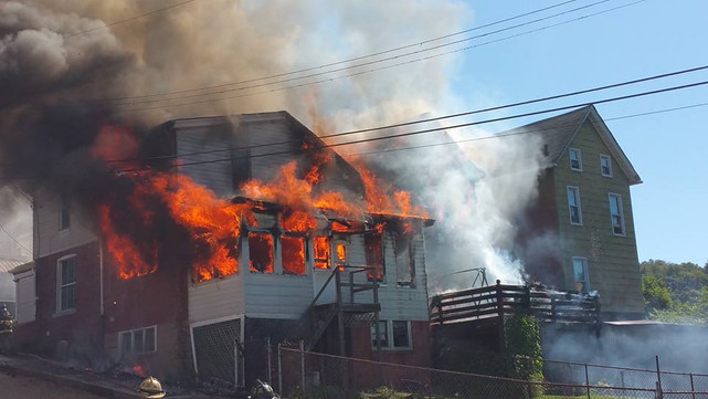 2-Alarm House Fire in North Braddock