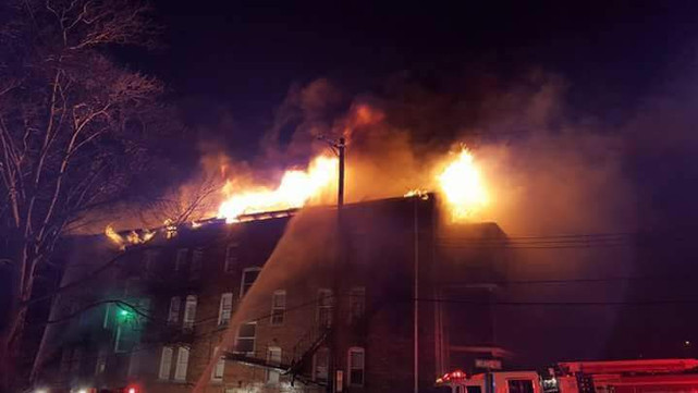 4-Alarm Apartment Fire in Swissvale