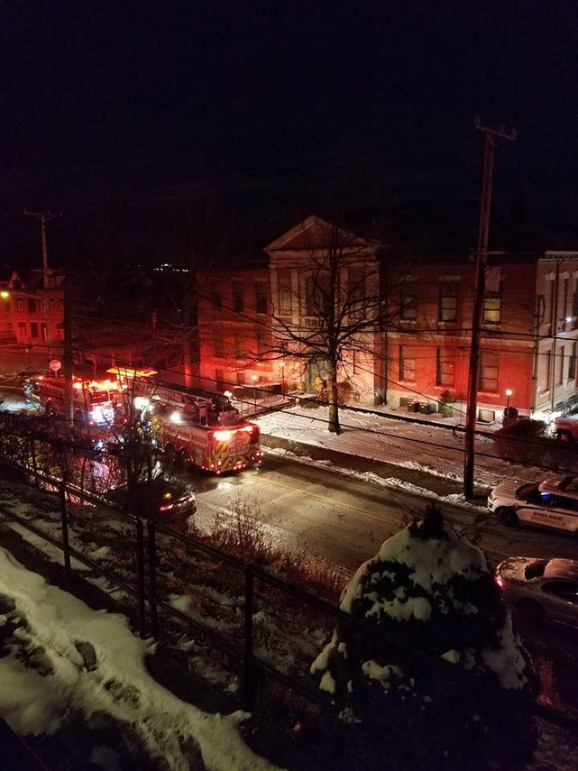 Apartment Fire in Swissvale