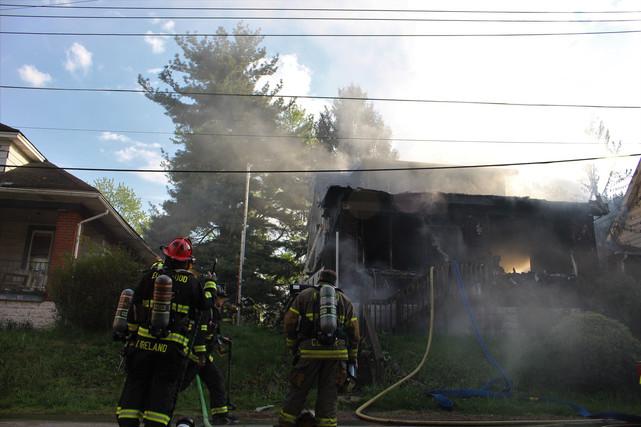 Braddock Hills Fire