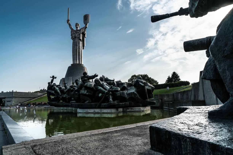 Kiev Statua della Madre Patria
