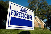 a sign that says avoid foreclosure