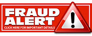 image that says fraud alert