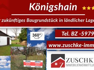 Königshain - Ihr zukünftiges Baugrundstück in ländlicher Lage