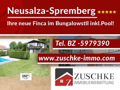 Neusalza-Spremberg - Finca im Bungalowstil inkl. Pool