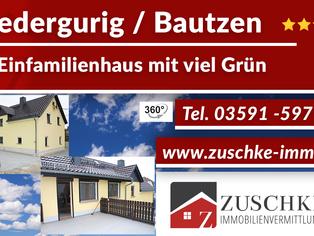 Niedergurig / Bautzen - Ihr Einfamilienhaus mit viel Grün