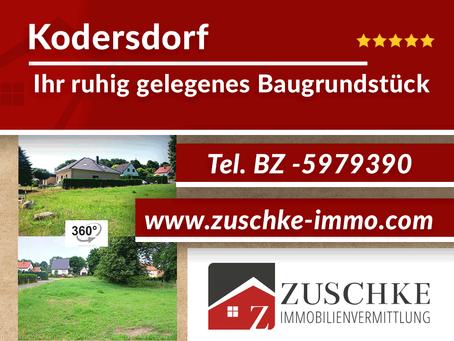Kodersdorf - Ihr ruhig gelegenes Baugrundstück