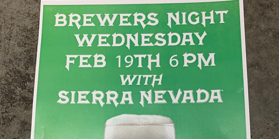 Brewers Night with Sierra Nevada