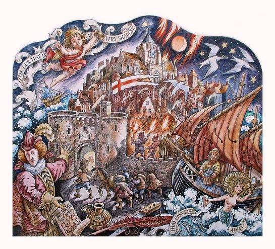Rye,mermaid, smugglers, Elixabeth I,landgate