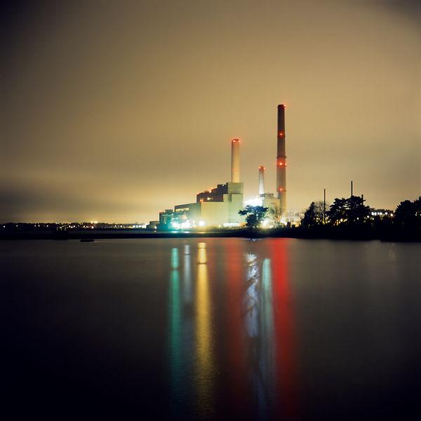 Power Plant- night photography
