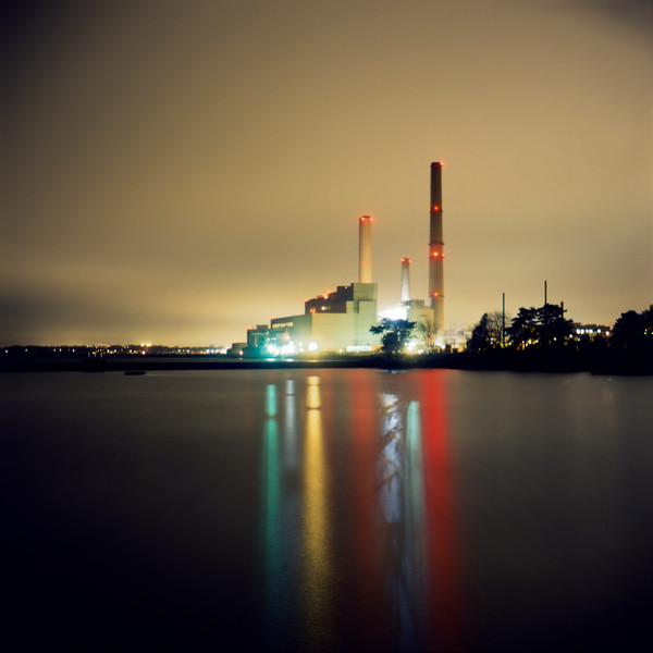 Power Plant- night photography