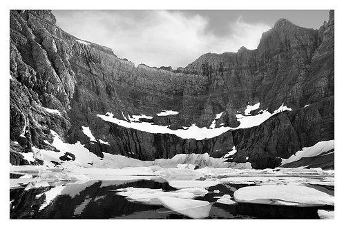 Iceberg Lake Glacier - Melting Glacier