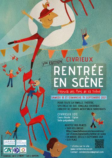 Festival Rentrée en Scène