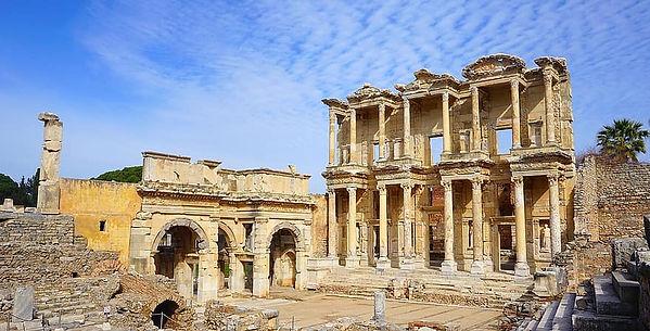 celsus-efes-ephesus-izmir-architecture-t