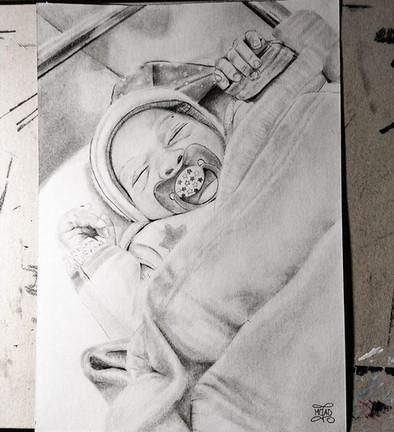 Portrait bébé Format A4 2020