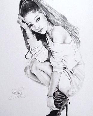 Dessin Ariana Grande