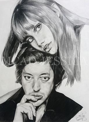 PORTRAIT | Serge Gainsbourg & Jane Birkin