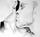 Dessin | Bisous dans le cou