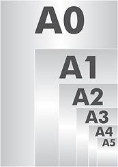 Les différents formats de feuille