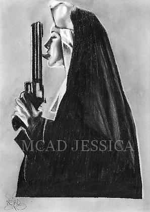 Portrait | Religieuse dépravée