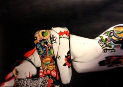 Portrait | Femme asiatique tatouée